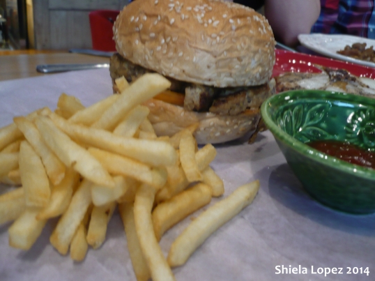 Croc Burger with Cheese  for only P170.00