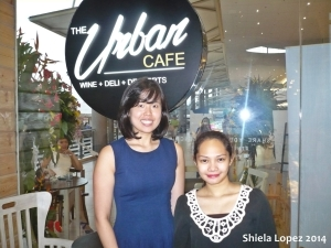 And of course, picture with the Owner Miss Careen Belo.